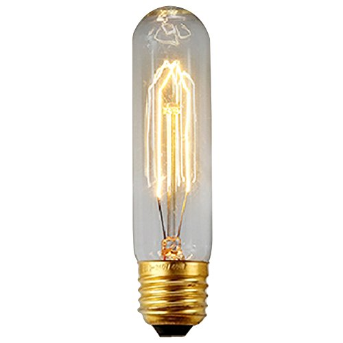 40W E27 Weinlese Glühlampe Schraube Glühlampe Altmodische Edison Art Glasantike Lampe T10-130MM - Edison Schraube Lampe