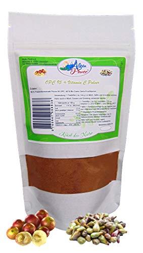 OPC + Vitamin C Pulver (Traubenkernextrakt und Camu Camu Pulver) 200 g