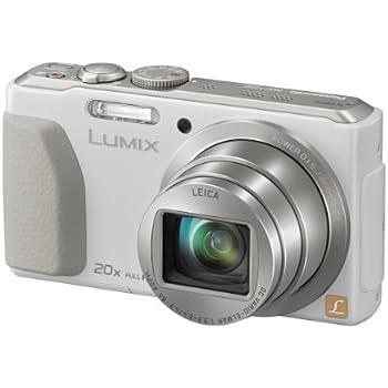 Panasonic Lumix DMC-TZ40EB-W Compact Camera - White 3: Amazon.co.uk ...