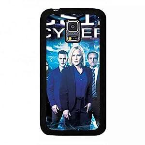 CSI Cyber Samsung Galaxy S5Mini Case, CSI: Cyber Logo Phone Shell Back Cover,Pc Hard Shell Skin Cover Case E1W8RP