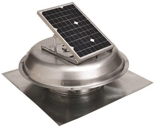 Solar Power Vent Roof Mount by LL Building