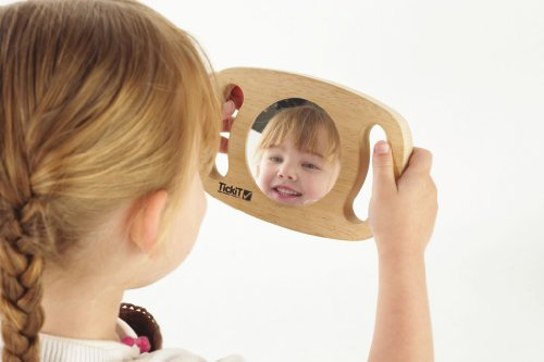 Easy Hold Wooden Mirror - Early Years