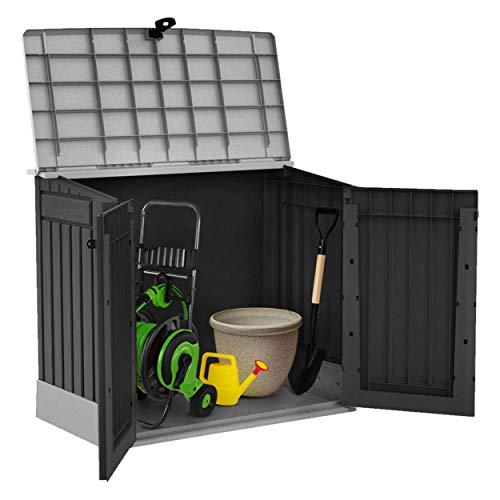 Mülltonnenbox von Keter Store it Out Midi, Schwarz, 845L - 2