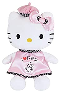 Jemini 023361Hello Kitty Peluche I Love Paris +/-27cm