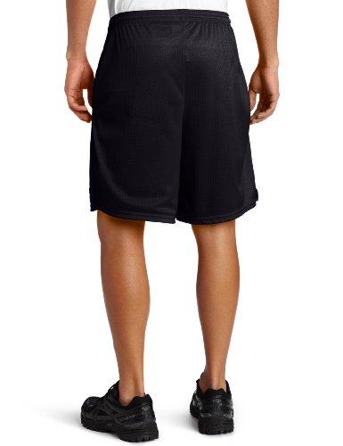Champion Long Mesh Men's Shorts With Pockets Schwarz