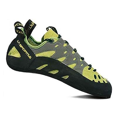 La Sportiva Tarantulace, Chaussures d'escalade Mixte Adulte, Multicolore (Kiwi/Grey 000), 39.5 EU