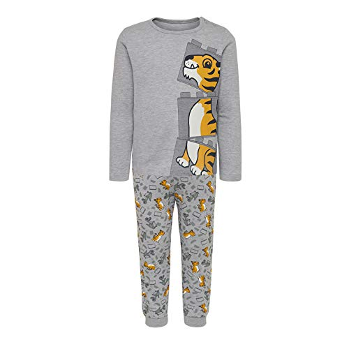 LEGO Baby-Jungen CM-50441-PYJAMAS Zweiteiliger Schlafanzug, Grau (Grey Melange 921), (Herstellergröße: 92)