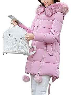 Mujer Chaqueta De Abrigo Para Invierno Chaquetas Con Caliente Capucha Espesan