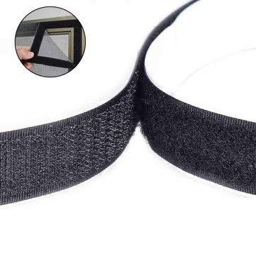 Keyi le Arts Crafts & ‿Outil de Couture et Accessoires – WX-888 2,5 x 100 cm Multifonction Double Adhésif Magic Stick Loop Tape Stick Loop Tie – 1 bâton Magique adhésif