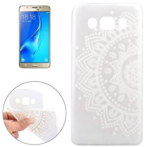 Crazy4Gadget For Samsung Galaxy J5(2016) / J510 Flowers Pattern TPU Protective Case