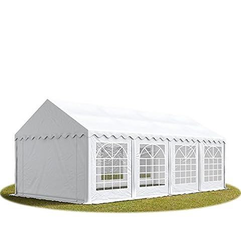 PROFIZELT24 Party-Zelt Festzelt 3x9m Garten-Pavillon -Zelt mit Fenstern, hochwertige 500g/m²