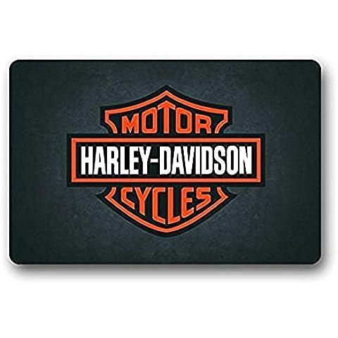 Harley motos logotipo personalizado al aire libre puerta alfombrillas/baño mats entrada Felpudo 23,6x 15,7pulgadas