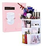 Organiseur de maquillage Emocci DIY amovible Make Up support de stockage de grande capacité Boîte de rangement pour cosmétiques Acrylique Blanc. …
