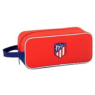 Safta Zapatillero Atlético De Madrid «Coraje» Oficial Zapatillero Mediano 340x140x150mm