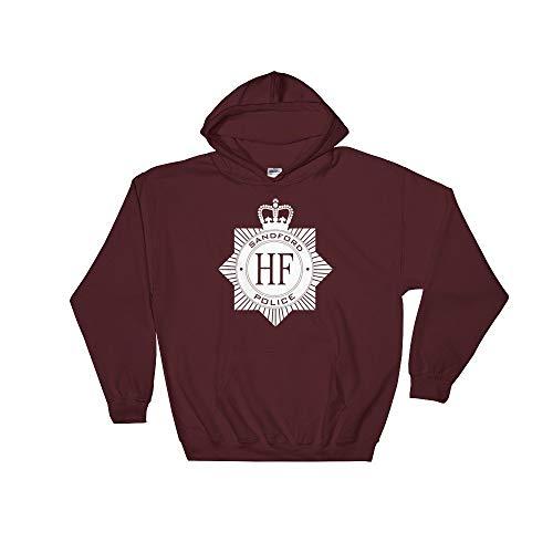 Hot Fuzz HF Sandford Police Badge Movie Hoodie Kapuzenpullover - Hot Fuzz-t-shirt