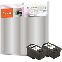 Peach PI100-220 13ml 14ml Negro, Cian, Amarillo cartucho de tinta - Cartucho de tinta para impresoras (Canon, PG-510, CL-511, Negro, Cian, Magenta, Amarillo, - Pixma MP 230 - Pixma MP 235 - Pixma MP 240 - Pixma MP 250 - Pixma MP 260 - Pixma MP 270 - Pixm, 14 ml, 13 ml)