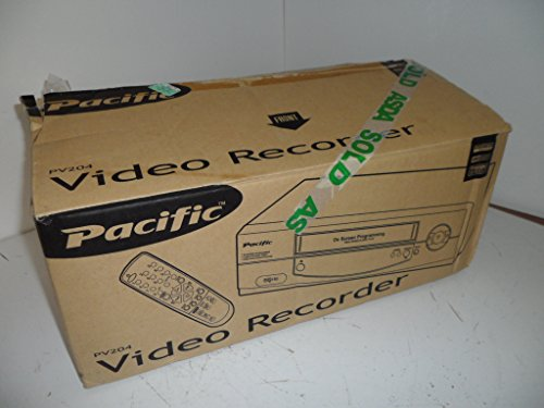 PACIFIC PV204 VHS VCR VIDEO RECO...