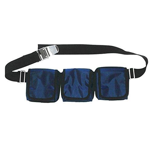 XL schwarz Scubapro Taschenbleigurt VARIOSOFT FIBER mit Schnalle Bleigurt Gr ABC & Blei