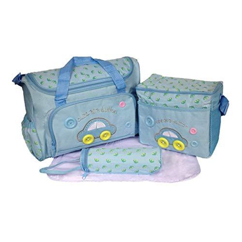 TKLLOVE Wickelrucksack, 4 STÜCK Frauen Multifunktions Mumienbeutel Handtaschen Mutterschaft Kinderwagen Tasche