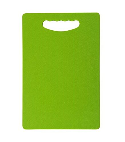 Slings Eco-Friendly Chopping Cutting Board With Handle, 40 X 25Cm (Green) Large Size  available at amazon for Rs.299