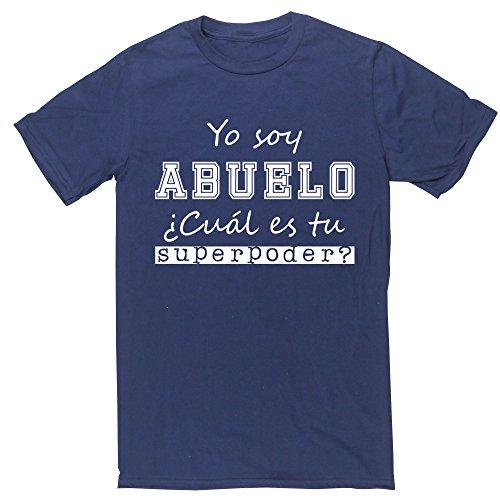 Hippowarehouse Yo Soy Abuelo, ¿Cuál es tu Superpoder? Camiseta Manga Corta Unisex