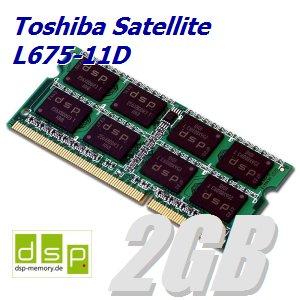 2GB Speichererweiterung für Toshiba Satellite L675-11D