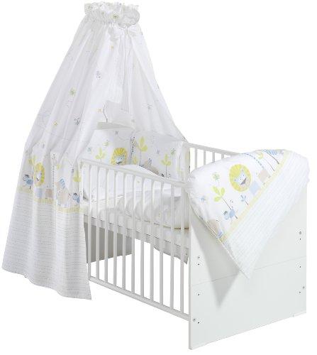 Schardt 04 498 02 02 1/676 Komplettbett Classic-Line, weiß mit textiler Ausstattung Cuba