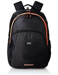 Wildcraft Polyester 31 Ltrs Black School Backpack (Wiki 3 Hue 3)