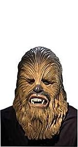 Générique-ma4192-Máscara Licencia Luxe Chewbacca Adulto PVC-Talla única