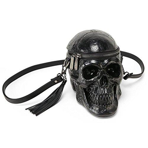 Gravis Tasche (Killstar Schädel Handtasche - Grave Digger Skull)
