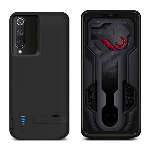 Casefirst Xiaomi Mi 9 Xiaomi Mi 9 Explore Akku Hülle, 5000mAh Ersatz Akkucase Externe Batterie Akkuhülle Backup Powerbank Schutzhülle Ladegerät Battery Case für Xiaomi Mi 9 Xiaomi Mi 9 Explore G