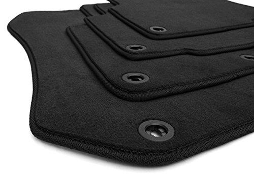 Preisvergleich Produktbild Fußmatten BMW 3er E36 Auto Matten Original Velours Qualität M3 Tuning Stoffmatten 4-teilig schwarz