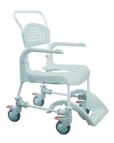 Etac Clean - Silla de ruedas para ducha (asiento de 55cm)