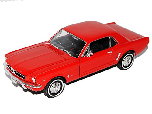 Welly Ford Mustang I Rot Coupe 1/2 1964-1966 1/24 Modell Auto