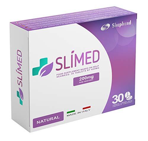 Slimed Natural 200mg 30 Compresse | DIMAGRANTE FORTE: Brucia i Grassi Velocemente, Blocca la fame e Accelera il Metabolismo, 100% Naturale Senza Controindicazioni