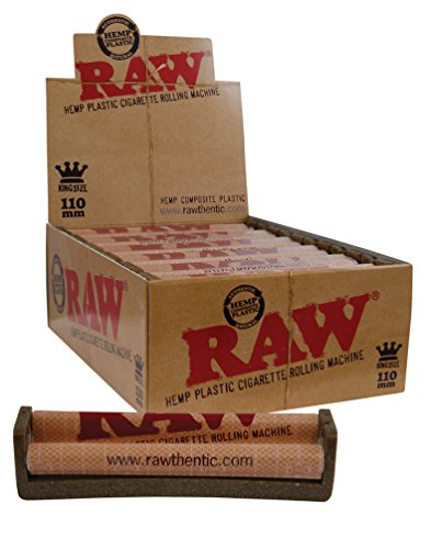 Raw Ecoplastic KingSize Drehmaschine 110mm aus Hanfplastik Roller