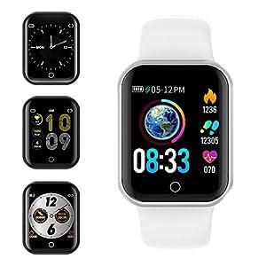 Smartwatch, KUNGIX Reloj Inteligente Impermeable IP68 Pulsera de Actividad Inteligente con Monitor de Sueño Pulsómetros… 16