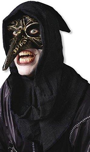 Horror-Shop Masque vénitien noir