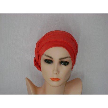 Bonnet Lulu coloris : coral