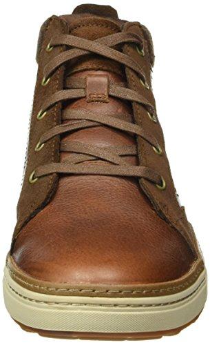 Clarks Lorsen Mid, Haute Sneakers Homme Marron (Tan)