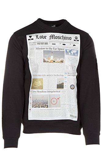 Love Moschino felpa uomo originale nero EU M (UK 38) M 6 470 12 M 3685 C7