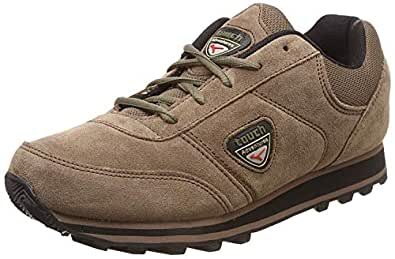Lakhani Men's TCH098 Brown Synthetic Casual Shoes 9
