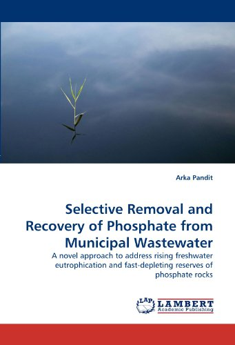 Selective Removal and Recovery of Phosphate from Municipal Wastewater