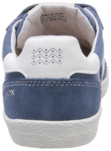 Geox  JR KIWI BOY M, Sneakers basses garçon Bleu - Blau (AVIO/OFF WHITEC4286)