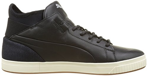 Puma Unisex-Erwachsene Play Citi Low-Top Schwarz (puma black-whisper white 01)