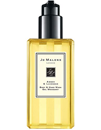 Jo Malone Amber & Lavender Body & Hand Wash (With Pump) 250ml -
