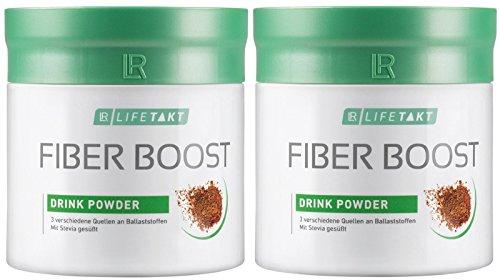 LR LIFETAKT Fiber Boost Getränkepulver Ballaststoffe Nahrungsergänzungsmittel (2x 250 g)