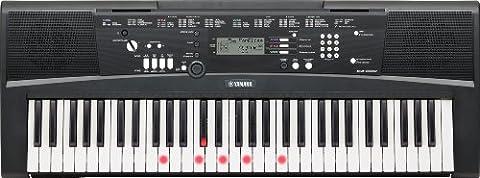 Yamaha EZ-220 Portable Keyboard with 61 Full-Size Lighted/Touch-Sensitive Keys/iPad Connectivity