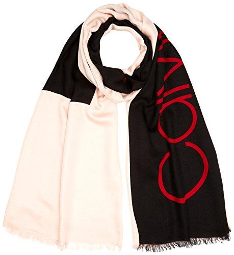 Calvin Klein Unisex BLOCK OUT SCARF W Schal, Beige (Nude 628), One Size -