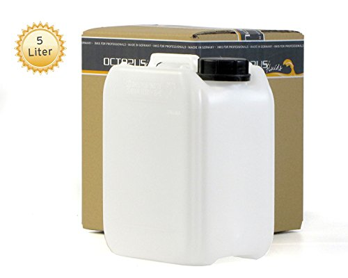 Preisvergleich Produktbild 5L Kanister leer aus HDPE, mit Verschluss DIN 51mm und UN Zulassung, Wasserkanister, lebensmittelecht
